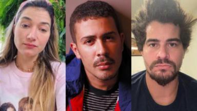 Gabriela Pugliesi, Carlinhos Maia e Thiago Martins furaram a quarentena, promoveram festa e foram criticados na web