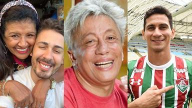 Carlinhos Maia e a mãe, Clodovil Hernandes e Paulo Henrique Ganso