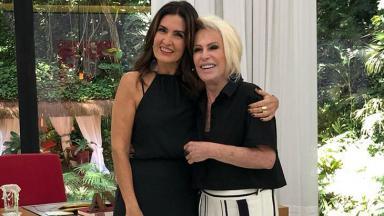 Fátima Bernardes e Ana Maria Braga