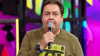 Faustão criticou o uso da tecnologia no futebol - Foto: Reprodução/Globo