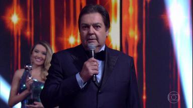 O apresentador Fausto Silva