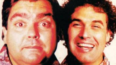 Faustão e Sérgio Mallandro protagonizaram filme em 1991, sem grande sucesso