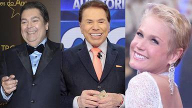Fausto Silva, Silvio Santos e Xuxa são recordistas da Globo