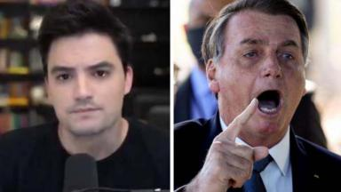Felipe Neto de camiseta preta