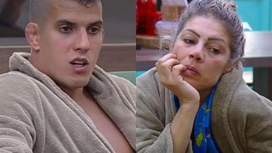 Felipe e Cátia desabafam sobre passado