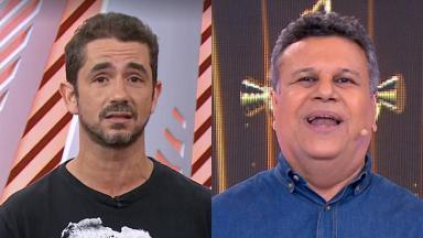 Felipe Andreoli e Téo José