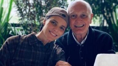 Fernanda Lima ao pai do pai Cleomar Lima