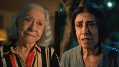 Fernanda Montenegro e Fernanda Torres em cena do especial de natal da série Amor e Sorte, na Globo