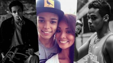 Juan Nakamura é filho da atriz Carol Nakamura