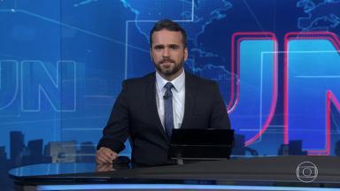 Filipe Toledo apresentou o Jornal Nacional em 16 de novembro de 2019