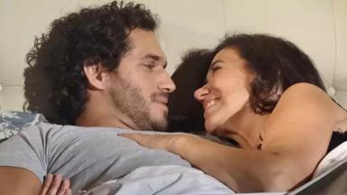 Paulo Rocha e Lilia Cabral em cena excluída do último capítulo de Fina Estampa
