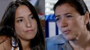 Katia Moraes e Lilia Cabral como Marilda e Griselda em cena de Fina Estampa