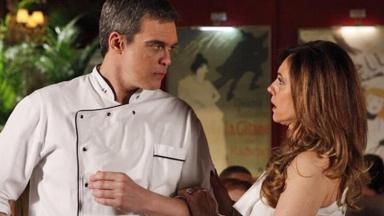 Dalton Vigh e Christiane Torloni como René e Tereza Cristina em cena de Fina Estampa