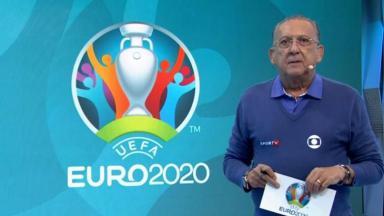 Galvão Bueno narrou a final da Eurocopa