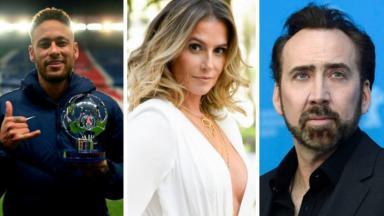 Neymar, Deborah Secco e Nicolas Cage