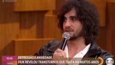Fiuk participa do Encontro com Fátima Bernardes