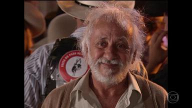 O ator Flávio Migliaccio
