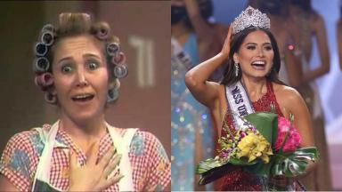 Muitos fãs perguntaram se Florinda Meza é parente da Miss Universo