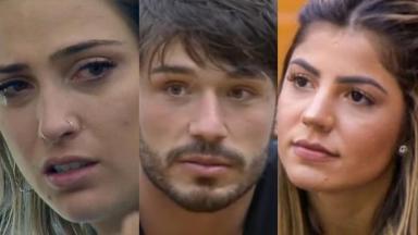 """Tati Dias deu toque em Lucas Viana sobre Hariany no reality show """"A Fazenda 11"""""""