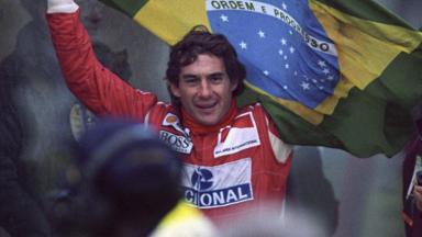 Ayrton Senna ídolo da Fórmula 1