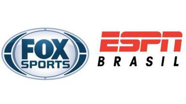 Logos antigos do Fox Sports e ESPN Brasil
