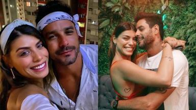 Diego Grossi e Fran Grossi são um casal que se formaram no BBB 14