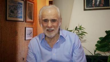 Francisco Cuoco em entrevista ao Conversa com Bial