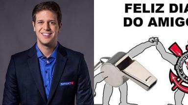 Perfil de Fred Ring no Instagram publica piada sobre Corinthians