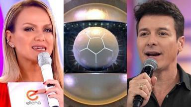 Eliana, futebol da Globo, e Rodrigo Faro em guerra por audiência