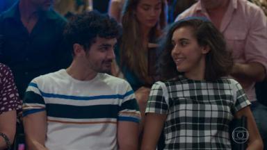 Giovanna Coimbra e Gabriel Contente