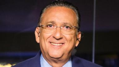 O narrador esportivo Galvão Bueno, que completará 70 anos nesta terça-feira