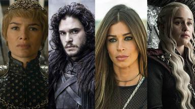 Atores de Game of Thrones e Grazi Massafera