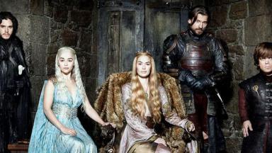 """Cena da última temporada de """"Game of Thrones"""""""