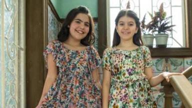 Atrizes que interpretam as gêmeas