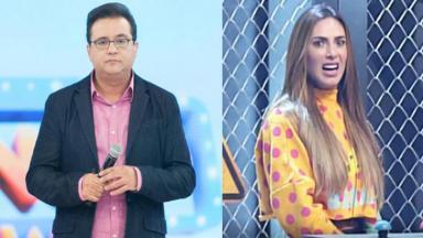 Geraldo Luís e Nicole Bahls
