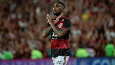 Gerson em jogo do Flamengo
