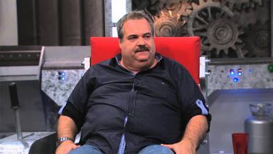 Gilberto Barros no TV Leão