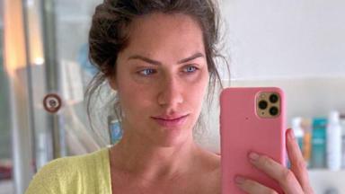 Giovanna Ewbank exibindo olheiras