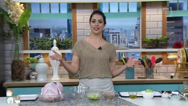 Giuliana Giunti ficou famosa ao ensinar receita de peru recheado na TV