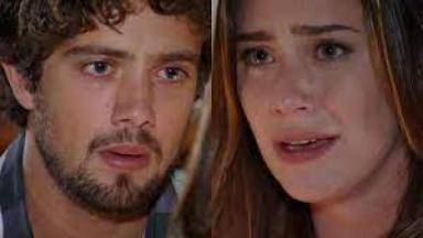 Cena de A Vida da Gente com Ana e Rodrigo