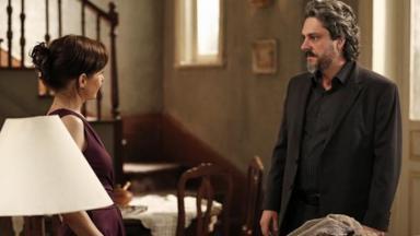 Cora e José Alfredo cara a cara