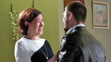 Lilia Cabral e Daniel Rocha na novela Império