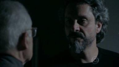 José Alfredo conversando com Silviano
