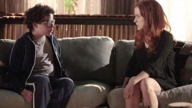 Francisco e Nanda conversando