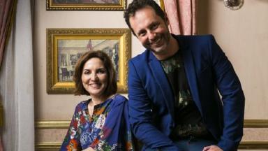 Alessandro Marson e Thereza Falcão, autores de Nos Tempos do Imperador, lado a lado,