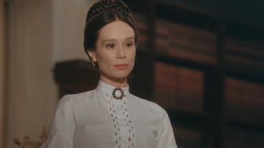 Mariana Ximenes como Luísa, a Condessa de Barral, na novela Nos Tempos do Imperador, em exibição na Globo