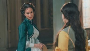Luísa e Pilar em Nos Tempos do Imperador