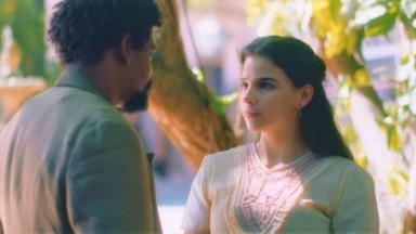 Pilar conversando com Jorge/Samuel