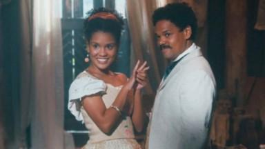 Jorge e Zayla em Nos Tempos do Imperador