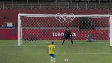Seleção brasileira masculina venceu o México